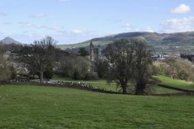 Maesgwastad Cemetery Welshpool
