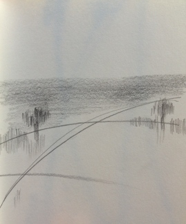 hedgerows & trees sketch