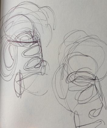 Migraine sketch 1